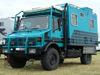 Unimog U .. expeditietruck