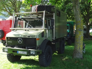 Unimog U 1850 expeditietruck